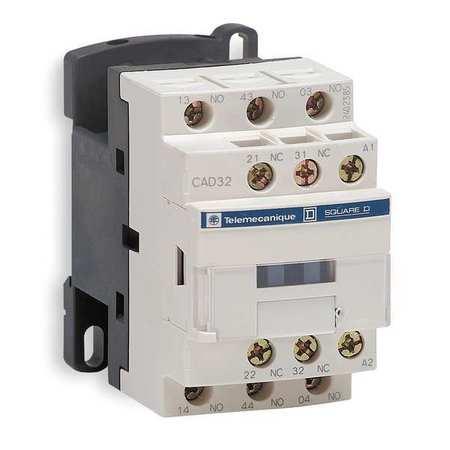 IEC Control Relay, 5NO, 480VAC, 10A