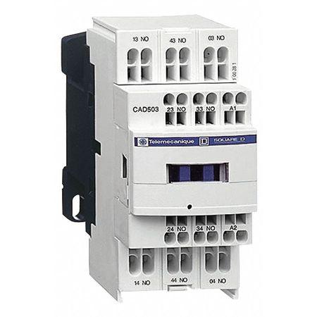 IEC Control Relay, 5NO, 120VAC, 10A