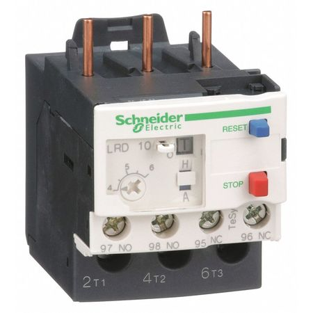 Ovrload Relay, 4 to 6A, 3P, Class 10, 690VAC