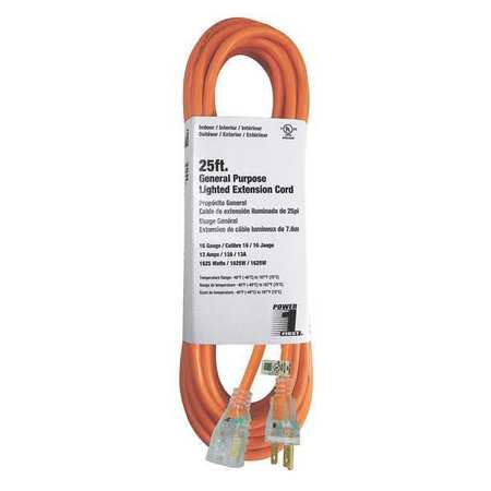 25 ft. 16/3 Extension Cord SJTW