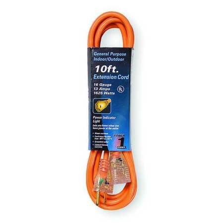 10 ft. 16/3 Extension Cord SJTW
