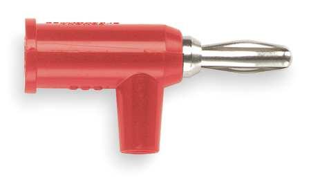 Banana Plug, Red, PK10
