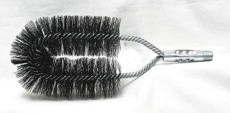 Boiler Brush, Dia 2 x 4 1/2, Length 9 1/2
