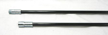 Fiberglass Rods, 3/8 NPT, Dia 1/2, Length72