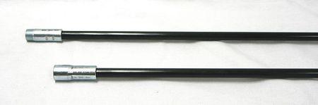 Fiberglass Rods, 3/8 NPT, Dia 3/8, Length48