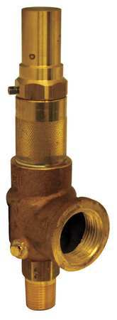 Adjustable Relief Valve, 1/2 In, 60 psi