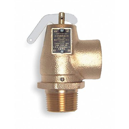 Safety Relief Valve, 1 In, 15 psi