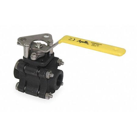"1/2"" FNPT Carbon Steel Fire Safe Ball Valve Inline"