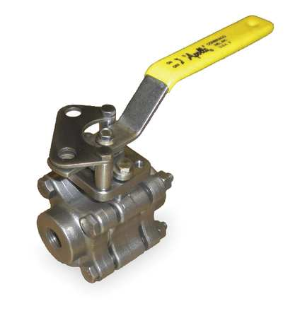 "1"" FNPT Stainless Steel Fire Safe Ball Valve Inline"