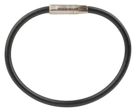 Twisty Key Ring, Black, PK5