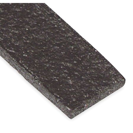 Fire Seal Weatherstrip, 10 ft., Graphite