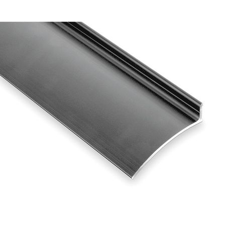 Drip Door Edge, Clear Anodized,  40 In.