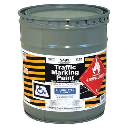 Rae Zone Marking Paint White 5 Gal 2493 05 Zoro Com