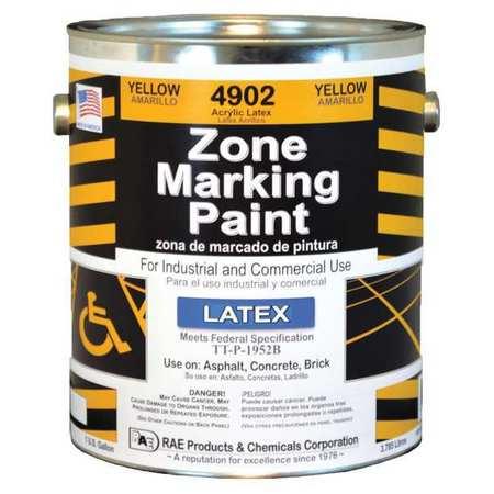 Zone Marking Paint, Yellow, 1 gal.