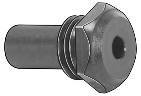 Nosepiece, 3/16 In, Steel, Use with 3EHT2