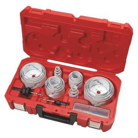 General Purpose Hole Saw Kit, 28 Pc