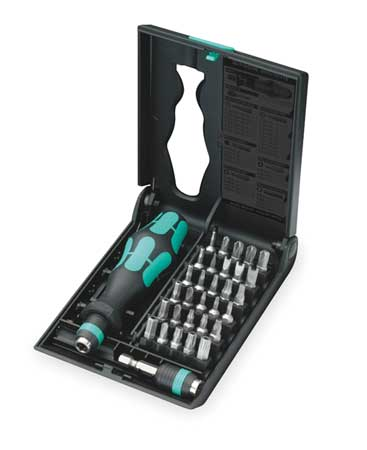 Multi-Bit Screwdriver, 30-in-1, 5 in.