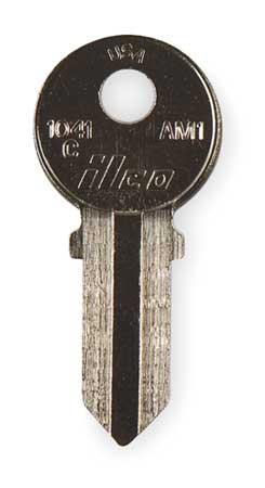 Key Blank, Brass, American Lock, PK10