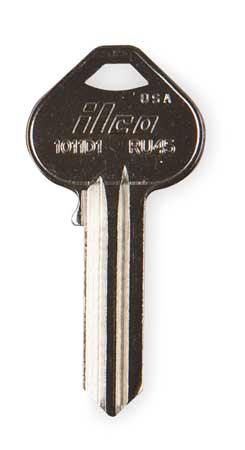 Key Blank, Brass, Russwin Lock, PK10