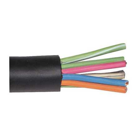 18 AWG 10 Conductor Portable Cord 600V 250 ft. BK