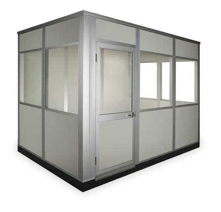 Modular In Plant Office, 8x8, W/5 Windows