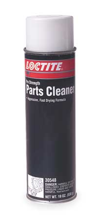 Parts Cleaner, 19 Oz Aerosol, Clear