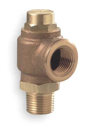 Adjustable Relief Valve, 1/4x1/2 In, 25psi