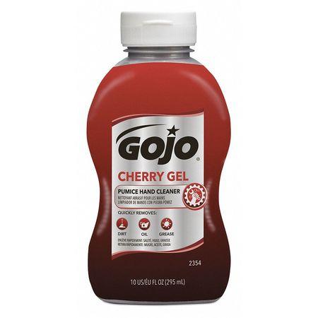 GOJO Gel Hand Cleaner, Cherry, Red