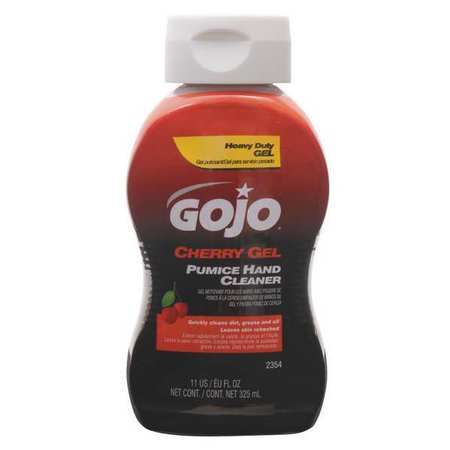 GOJO Gel Hand Cleaner, Cherry, Red