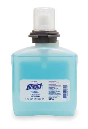 Hand Sanitizer Refill, Size 1200mL, PK4