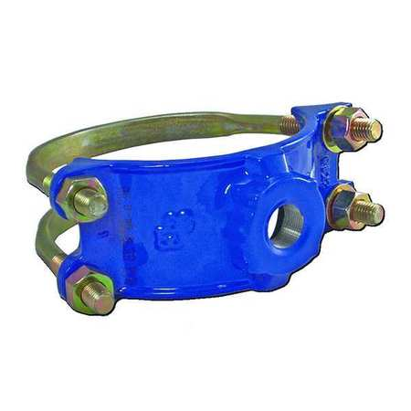 Saddle Clamp, Double Bale, 1 1/2 In Outlet