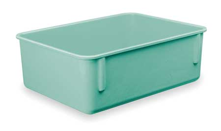 Nesting Container, 9 7/8 In L, Green