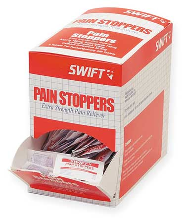 Pain Stoppers, Tablet, PK500