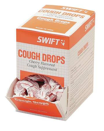 Cough Drops, Lozenge, 6.1mg, PK100