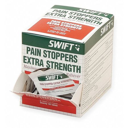 Extra Strength Pain Stopper, Tablet, PK100
