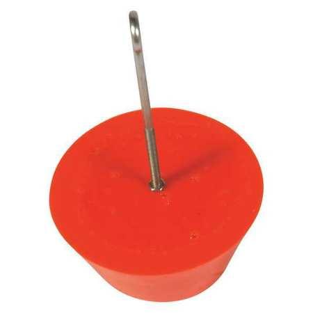 Drain Plug, Orange, 8 In