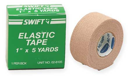 Adhesive Elastic Tape,  1 In x 5 Yd.