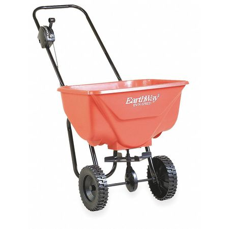 Broadcast Spreader, 65 lb., Poly Wheels