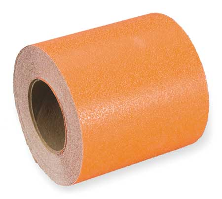 Anti-Slip Tape, Safety Orange, 6 in x 60ft