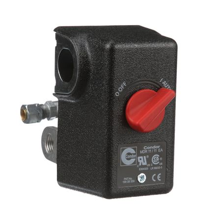 Pressure Switch, 80/100 psi, DPST, Diaphrgm