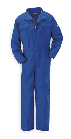 Flame Resistant Coverall,  Blue,  Nomex(R),  XL