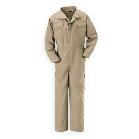 Flame Resistant Coverall,  Tan,  Nomex(R),  2XL