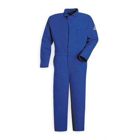 Flame Resistant Contractor Coverall,  Blue,  L