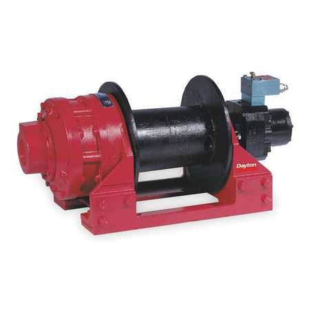 Hyd Winch, 30, 000 lb, 5/8 to 3/4 In, 20 gpm