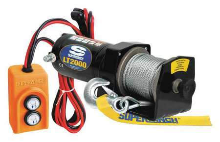 Electric Winch, 1HP, 12VDC