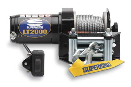ATV/UTV Electric Winch, 1HP, 12VDC