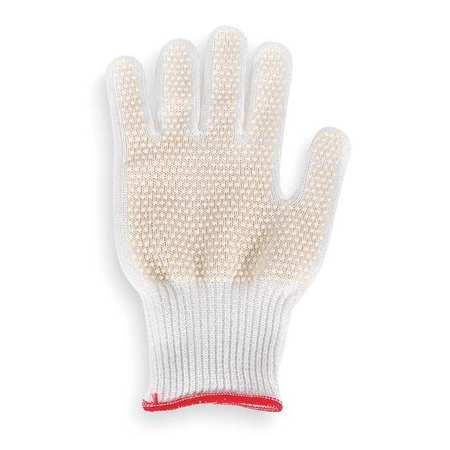 Cut Resistant Glove, White, Reversible, XL