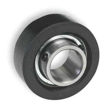 "Rubber Mounted Bearing, Ball, 3/4"" Bore"