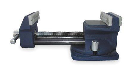 Reversible Bench Vise, Utility, 3 1/2 to 7