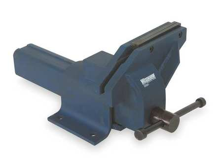 Offset Bench Vise, Utility, 6 In